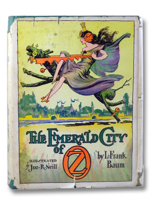 The Emerald City of Oz, Baum, L. Frank