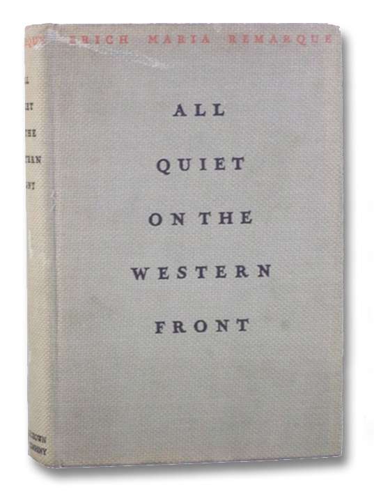 All Quiet on the Western Front, Remarque, Erich Maria; Wheen, A.W.