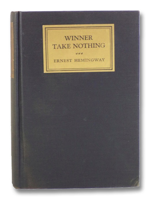 Winner Take Nothing, Hemingway, Ernest