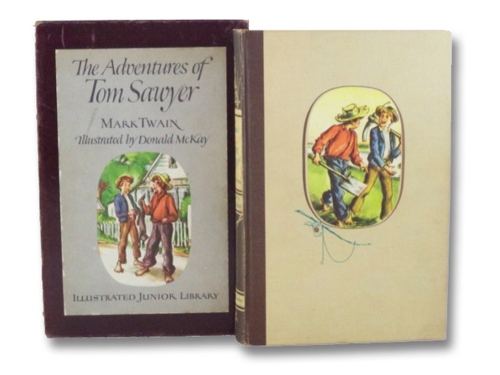 The Adventures of Tom Sawyer (Illustrated Junior Library Edition), Twain, Mark [Clemens, Samuel]