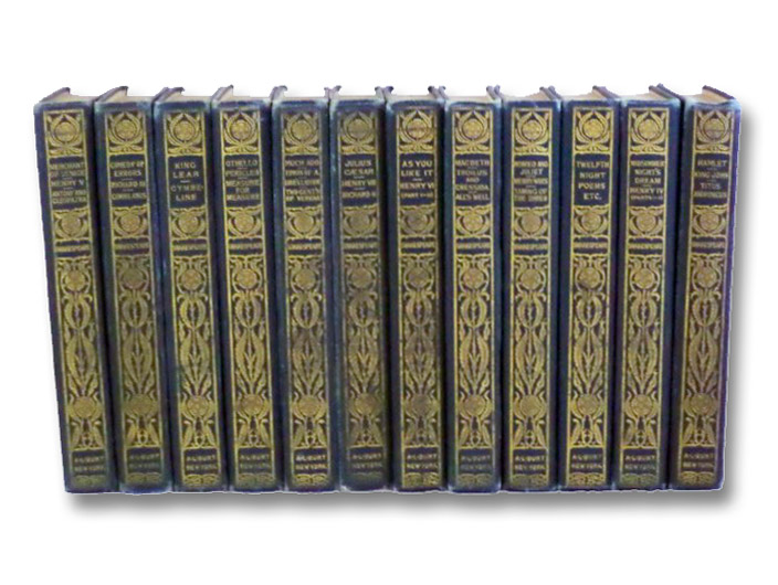 Complete Works of William Shakespeare, in Twelve Volumes, Shakespeare, William; Golancz, Israel