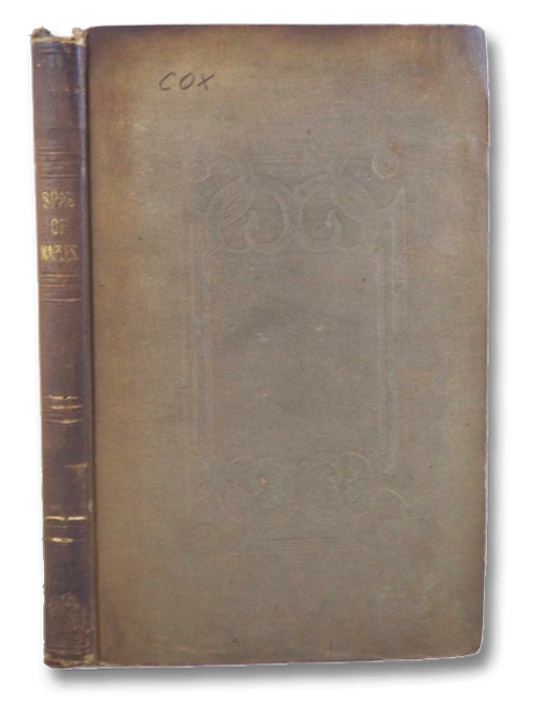 Hints for Invalids About to Visit Naples; Being a Sketch of the Medical Topography of That City. Also an Account of the Mineral Waters of the Bay of Naples; with Analyses of the Most Important of Them, Derived from Authentic Sources. With Engravings., Cox, J. [Joseph] C.