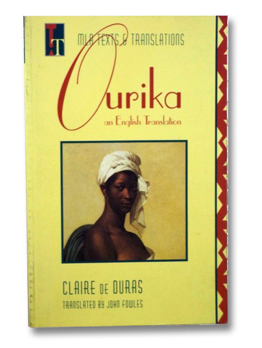 Ourika: An English Translation (MLA Texts and Translations), De Duras, Claire