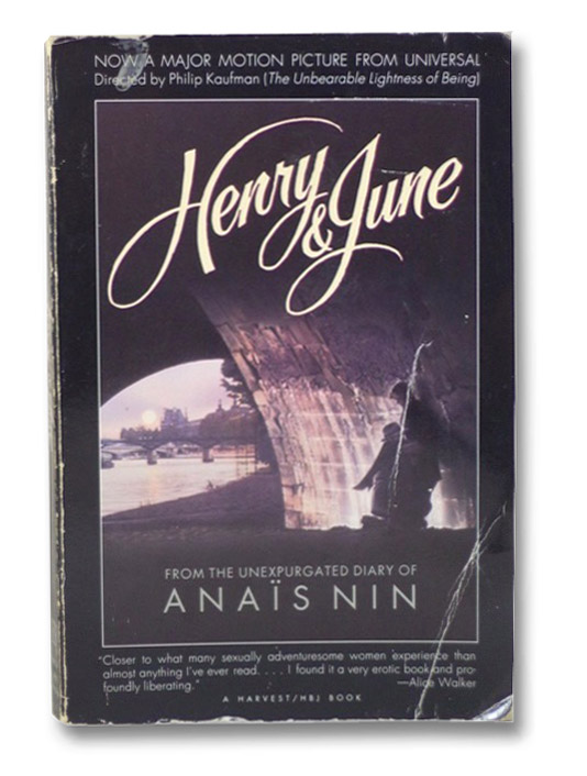 Henry and June, Nin, Anais