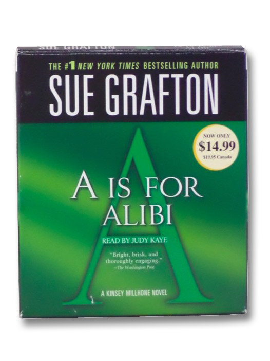 A Is For Alibi (Audiobook), Grafton, Sue