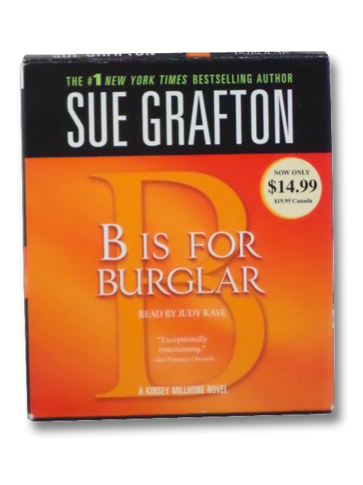 B Is For Burglar (Audiobook), Grafton, Sue
