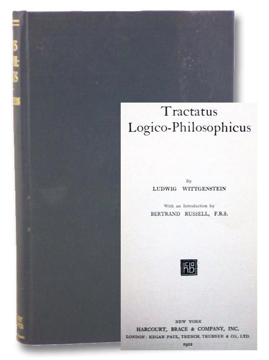 Tractatus Logico-Philosophicus (International Library of Psychology, Philosophy, and Scientific Method), Wittgenstein, Ludwig; Russell, Bertrand; Ramsey, F.P.; Ogden, C.K.