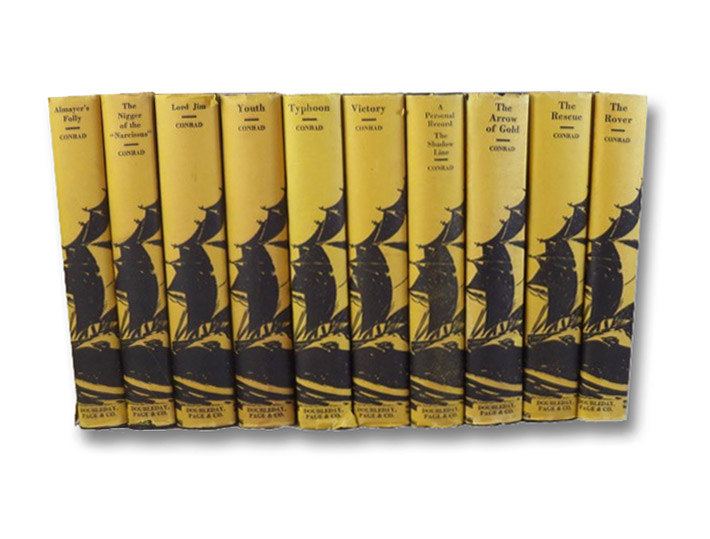 The Malay Edition of the Works of Joseph Conrad, in Ten Volumes: Almayer's Folly; The Nigger of the 'Narcissus'; Lord Jim; Youth and Two Other Stories; Typhoon; Victory; A Personal Record / The Shadow Line; The Arrow of Gold; The Rescue; The Rover;, Conrad, Joseph