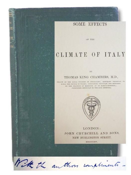 Some Effects of the Climate of Italy, Chambers, Thomas King
