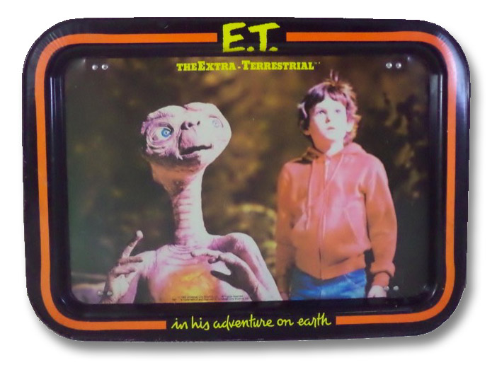 E.T. The Extra-Terrestrial TV and Serving Tray, Universal Studios