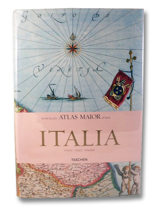 Joan Blaeu Atlas Maior of 1665 Italia (Italia / Italy / Italien): All 60 Maps of Italy, and the Original Commentaries from Joan Blaeu's Atlas Maior of 1665, 'The Greatest and Finest Atlas Ever Published.', Van Der Kroght, Peter; Blaeu, Joan