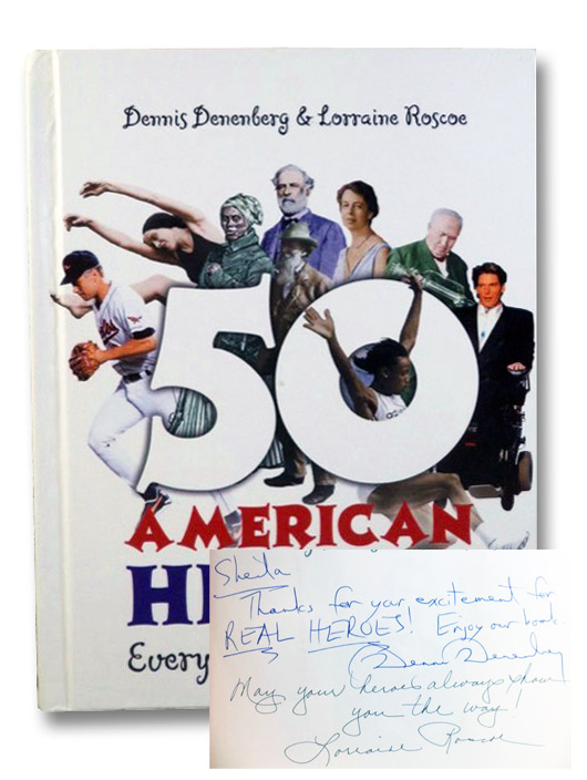 50 American Heroes Every Kid Should Meet, Denenberg, Dennis; Roscoe, Lorraine