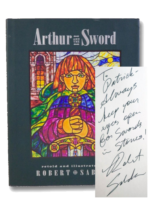 Arthur and the Sword, Sabuda, Robert