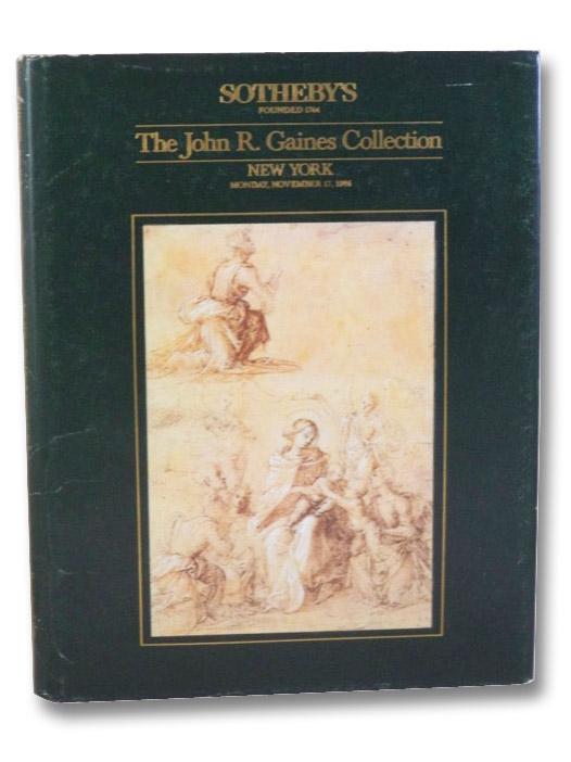 The John R. Gaines Collection, Sotheby's