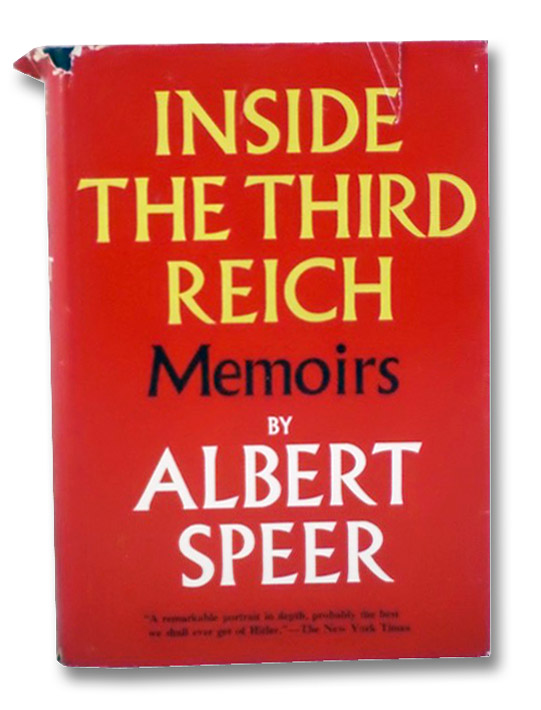 Inside the Third Reich: Memoirs, Speer, Albert; Winston, Richard & Clara; Davidson, Eugene