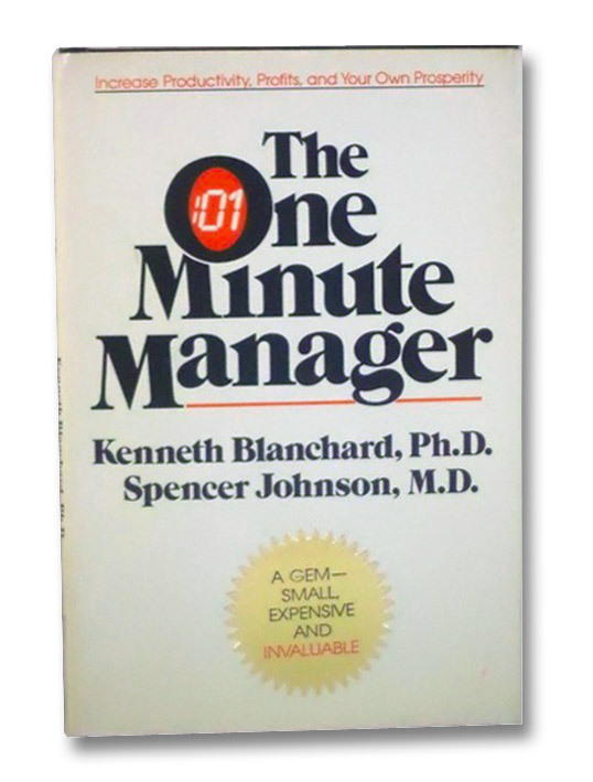 One Minute Manager, Blanchard, Kenneth; Johnson, Spencer