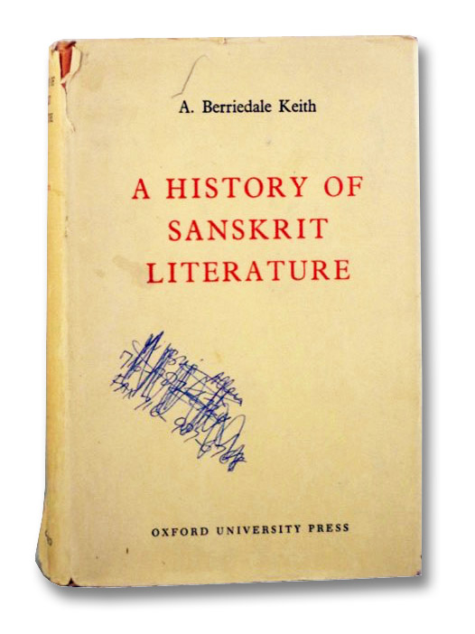 A History of Sanskrit Literature, Keith, A. Berriedale