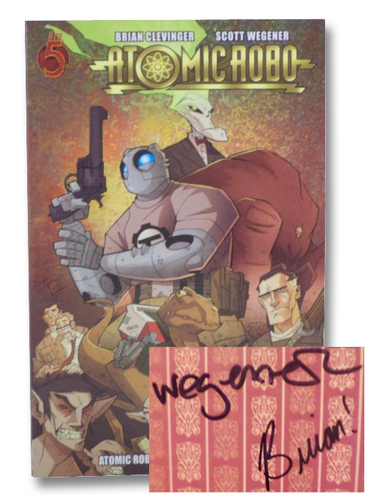 Atomic Robo, and Other Strangeness (Vol. 4), Clevinger, Brian; Wegener, Scott
