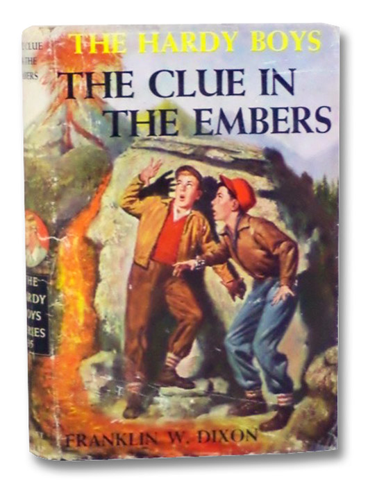 The Clue in the Embers (The Hardy Boys Mystery Stories Book 35), Dixon, Franklin W.
