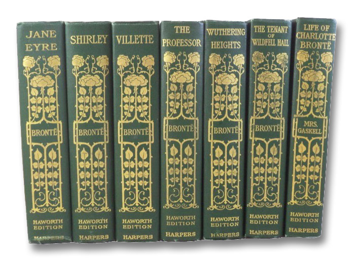 Life and Works of The Sisters Bronte, in Seven Volumes (The Haworth Edition): Jane Eyre; Shirley; Villette; The Professor, and Poems by Charlotte, Emily and Anne Bronte, and the Rev. Patrick Bronte, Etc.; Wuthering Heights & Agnes Grey; The Tenant of Wildfell Hall; The Life of Charlotte Bronte, Bronte, Charlotte & Emily & Anne; Ward, Mrs. Humphry; Gaskell, E.C. [Elizabeth Cleghorn]; Shorter, Clement K.; [Bell, Currer]