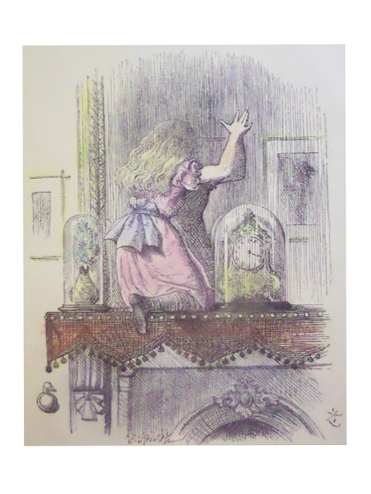 Through the Looking-Glass, and What Alice Found There., Carroll, Lewis [Rev. Charles Lutwidge Dodgson]