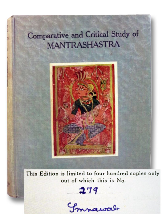 Comparative and Critical Study of Mantrasastra (with Special Treatment of Jain Mantravada) Being the Introduction to Sri Bhairava Padmavati Kalpa, Jhavery, Mohanlal Bhagwandas; Abhyankar, K.V.