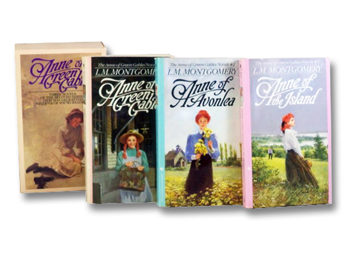 Anne of Green Gables Boxed Set, Books 1-3: Anne of Green Gables; Anne of Avonlea; Anne of the Island, Montgomery, L.M. [Lucy Maud]