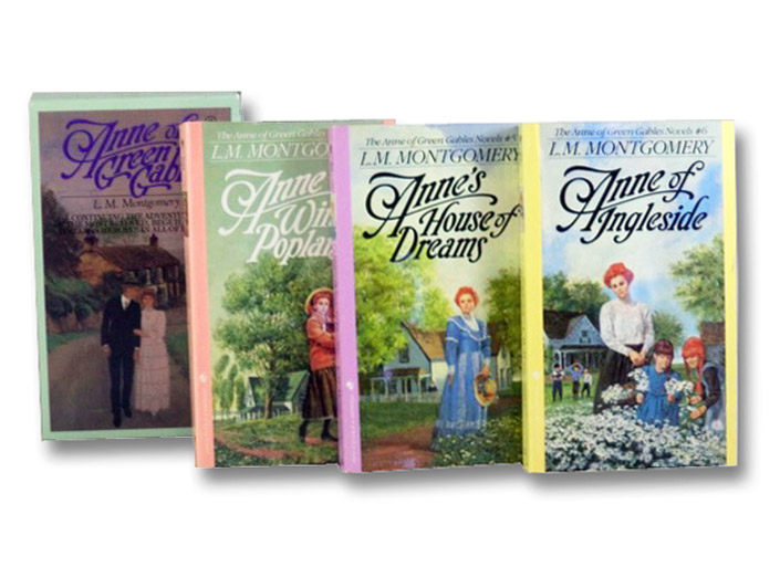 Anne of Green Gables Boxed Set, Books 4-6: Anne of Windy Poplars; Anne's House of Dreams; Anne of Ingleside, Montgomery, L.M. [Lucy Maud]