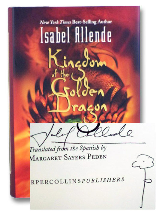 Kingdom of the Golden Dragon, Allende, Isabel; Peden, Margaret Sayers