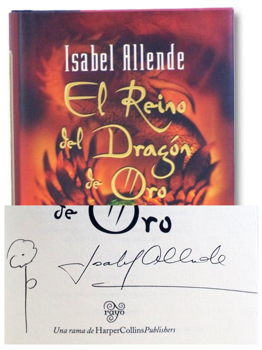 El Reino del Dragon de Oro, Allende, Isabel
