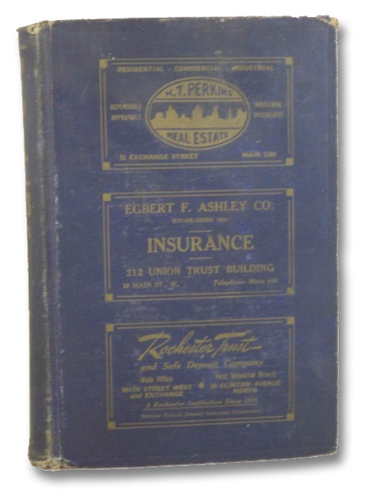Polk's Rochester Suburban (Monroe County, N.Y.) Directory, Vol. XIII, 1942, Including the Towns of Brighton, East Rochester, Fairport, Gates, Greece, Irondequoit, Pittsford and Webster - A Supplement to the Rochester Directory Containing Alphabetical Section, Classified Business Directory, Buyers' Guide, House and Street Directory, R.L. Polk & Co., Inc.