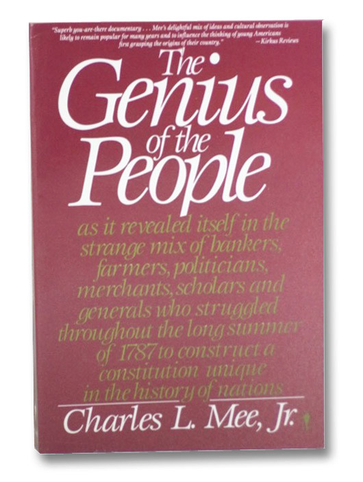 The Genius of the People, Mee, Charles L.