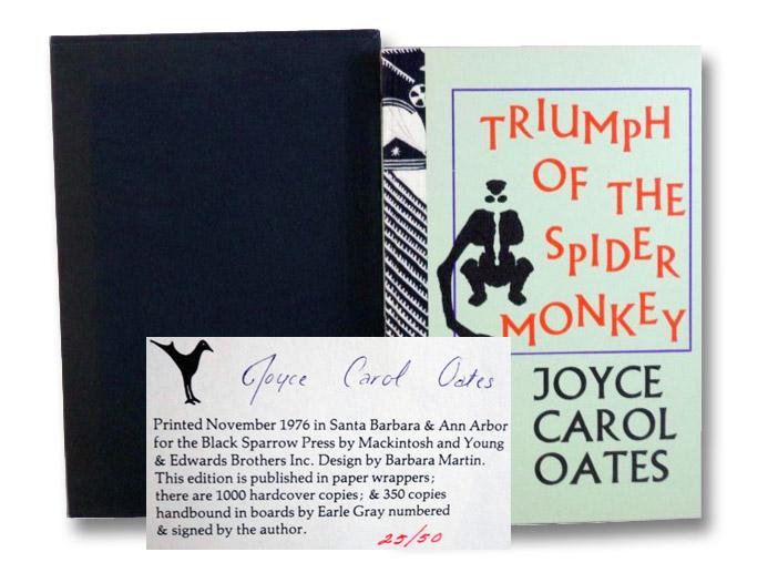 Triumph of the Spider Monkey, Oates, Joyce Carol