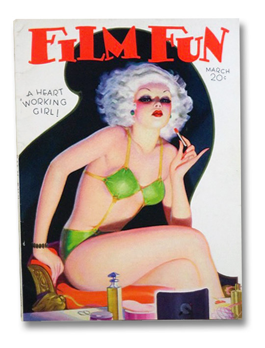 Film Fun, March, 1935 (Volume 63, Number 550) [Magazine], Grady, Lester C.; Townsend, Leo; Ninomiya, May