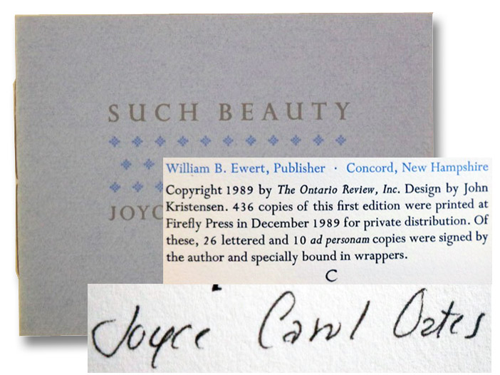 Such Beauty, Oates, Joyce Carol