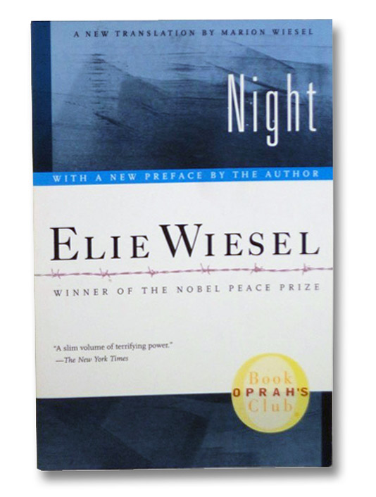 Night, Wiesel, Elie; Wiesel, Marion (Translator)