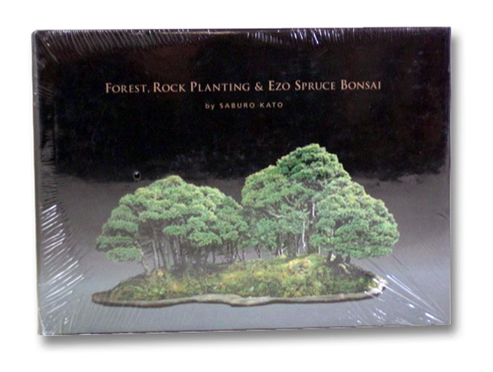 Forest, Rock Planting & Ezo Spruce Bonsai, Kato, Saburo