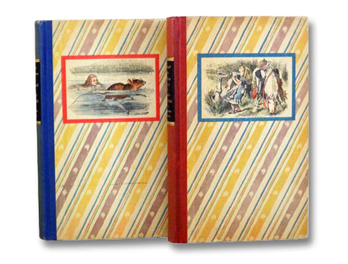 Alice's Adventures in Wonderland and Through the Looking-Glass and What Alice Found There (2 Volume Boxed Set) (Centennial Edition), Carroll, Lewis