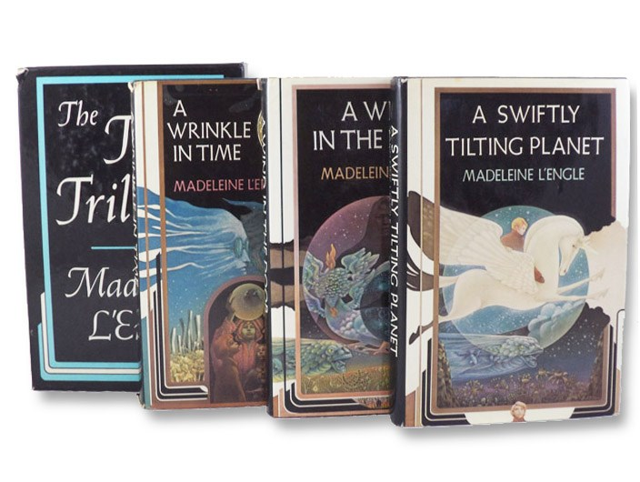 The Time Trilogy: A Wrinkle in Time, A Wind in the Door, and A Swiftly Tilting Planet, L'Engle, Madeleine