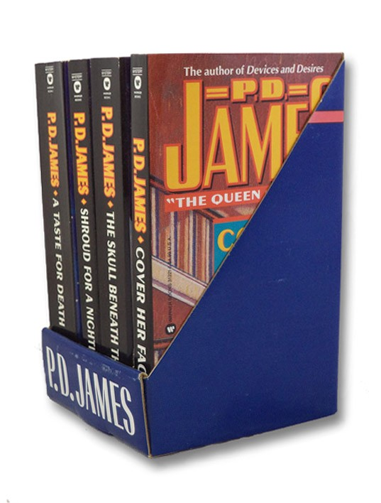 P.D. James 4 Volume Boxed Set: Cover Her Face; Shroud for a Nightingale; Skull Beneath the Skin; A Taste for Death, James, P.D.