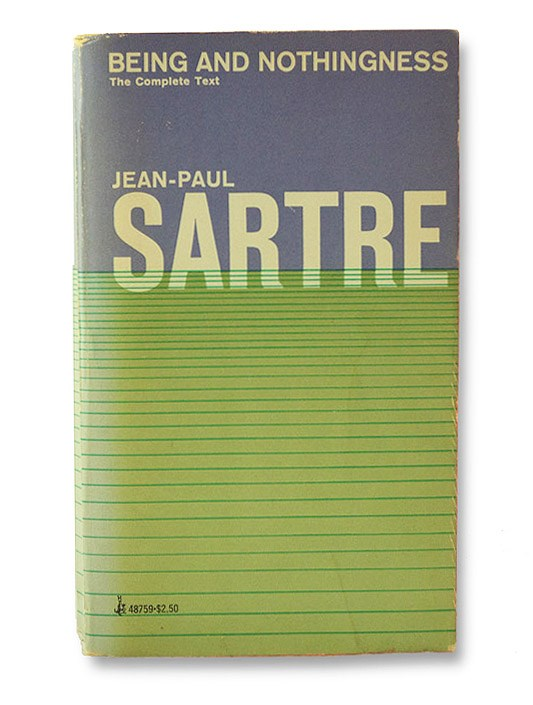 Being and Nothingness, Sartre, Jean-Paul