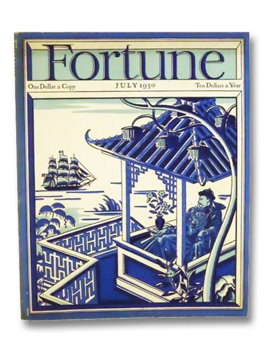 Fortune Magazine Volume II [2], Number 1, July 1930, Luce, Henry R.; et al