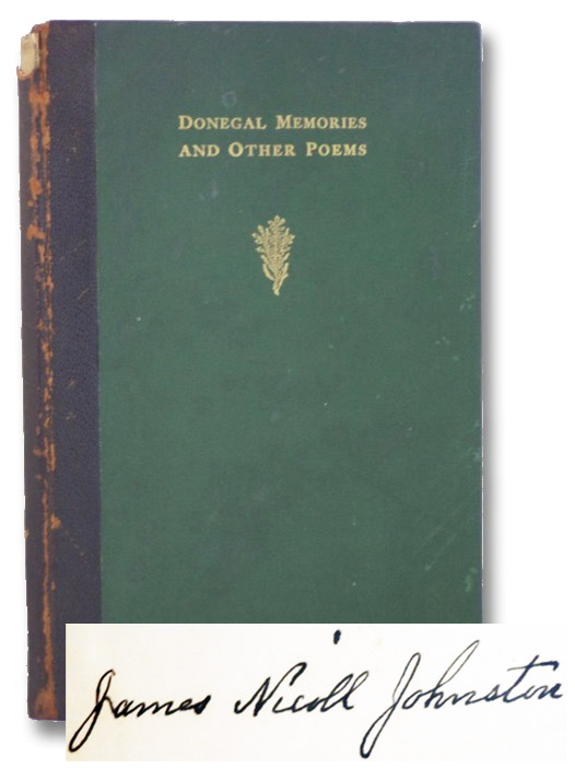 Donegal Memories and Other Poems, Johnston, James Nicholl