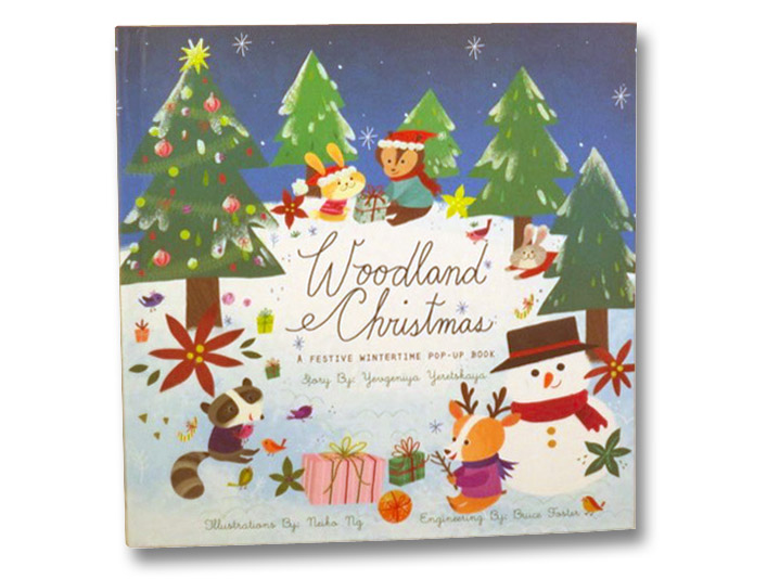 Woodland Christmas: A Festive Wintertime Pop-Up Book, Yeretskaya, Yevgeniya