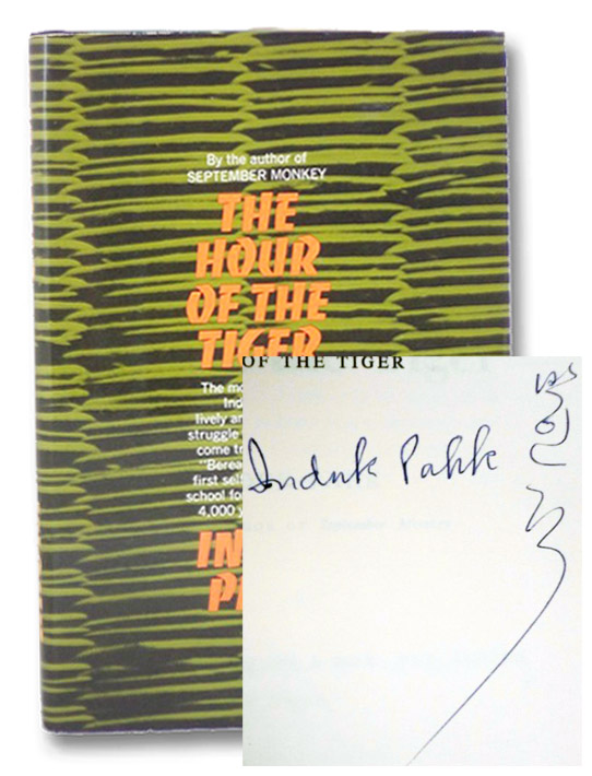 The Hour of the Tiger, Pahk, Induk
