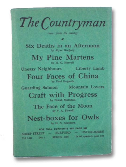 The Countryman: A Quarterly Non-Party Review and Miscellany of Rural Life and Work for the English-Speaking World (Vol. LIII, No. 1, Spring 1956), Cripps, John (Editor)