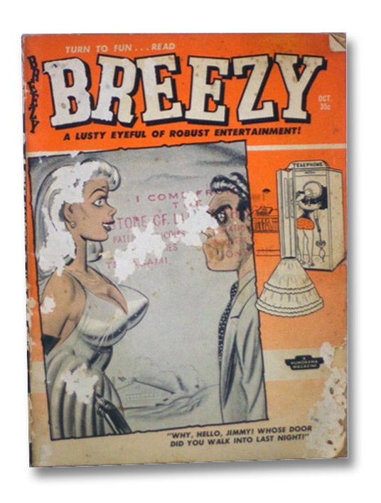 Breezy Lively Cartoon Jamboree, Oct. '58, No. 28 [October 1958, Number 28]