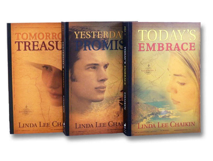 Tomorrow's Treasure (Book 1) / Yesterday's Promise (Book 2) / Today's Embrace (Book 3) - East of the Sun, 3-Volume Set, Chaikin, Linda Lee