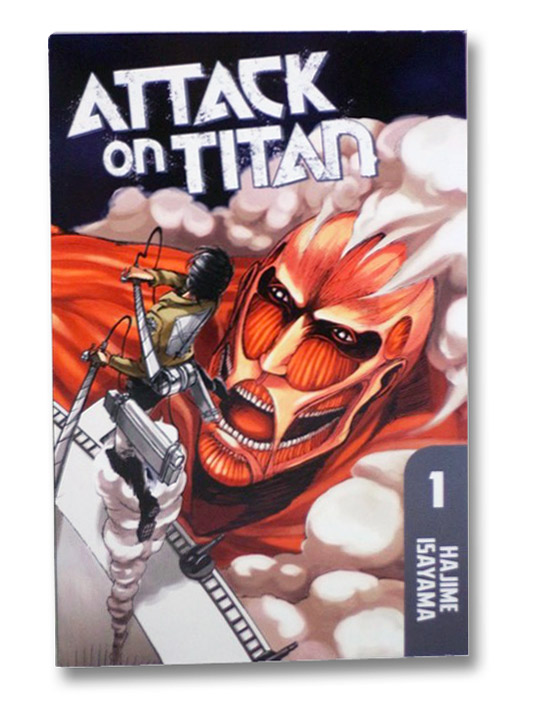 Attack on Titan, Book 1, Isayama, Hajime