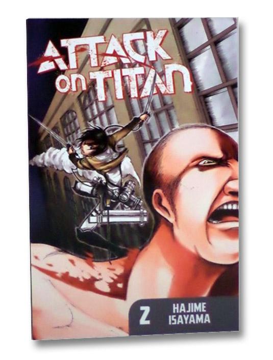 Attack on Titan, Book 2, Isayama, Hajime